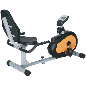 GS-8330R New concept indoor magnetic bicycle recumbent fat exercise bike
