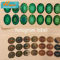 customized holographic label sticker anti counterfeit label