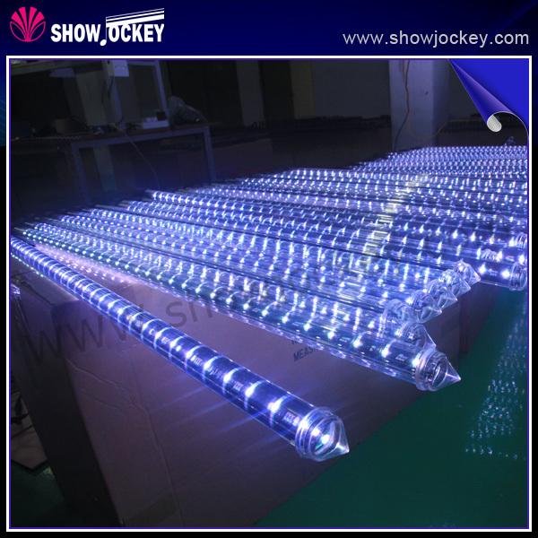 50010001500mm meteor shower rain tubes led christmas lights for wedding garden outdoor - Meteor Christmas Lights