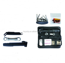 30pcs bicycle repairing kit with mini tire pump