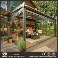 Elegant Design Heat Insulation Aluminum Sunroom With Lowe Glass