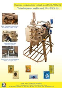 Dualpack Packaging Machine To Pack Sugar In Sachets