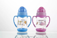 2016 Hot Sale Leak proof Straw Bottle joyshaker/Water Bottle Sippy Cup For Kids With Straw BPA free and FDA Approved
