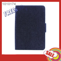 Universal Denim fabric Cell Phones Case Back Cover for ipadAir/Air2