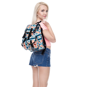 3D Aztec Printed School Backpack Fashion Travelling Backpack With High Quality For Hiking