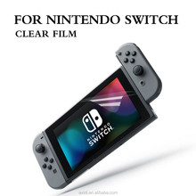 Japan PET Raw Material Full Size Clear Screen Protector for Nintendo Switch Game Player