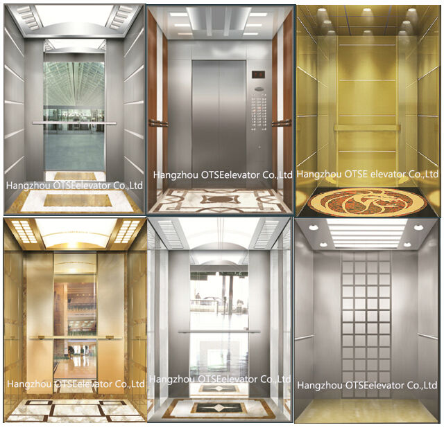 Mirror Finished Small Building Elevator Residential