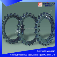 Hot Sales Excavator Chain Sprocket For EX55 EX60 EX100 EX120 EX200 EX210 EX220 EX230 EX300 EX330 EX350 EX400 Chain Sprocket