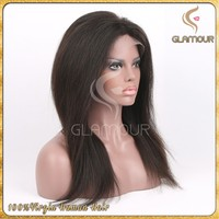 best selling virgin indian full lace wig sew in hair
