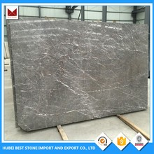 Hot China Products Wholesale A Grade White Grey Marble