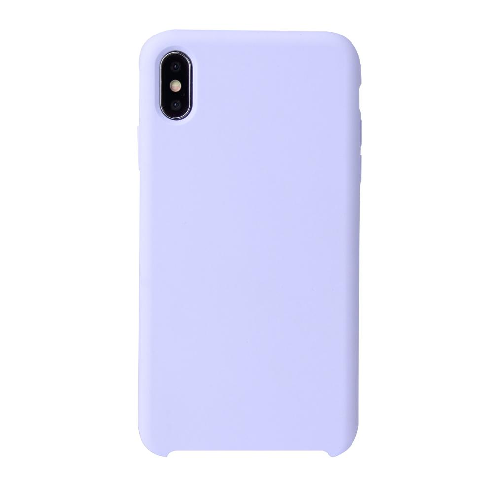 2019 <strong>Microfiber</strong> Soft Touch Cell Phone Silicon Cover Liquid Silicone Case For iPhone XS Max XR