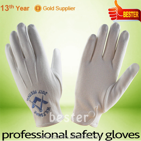 High Performance 100% Cotton Communion Gloves With Great Low Price