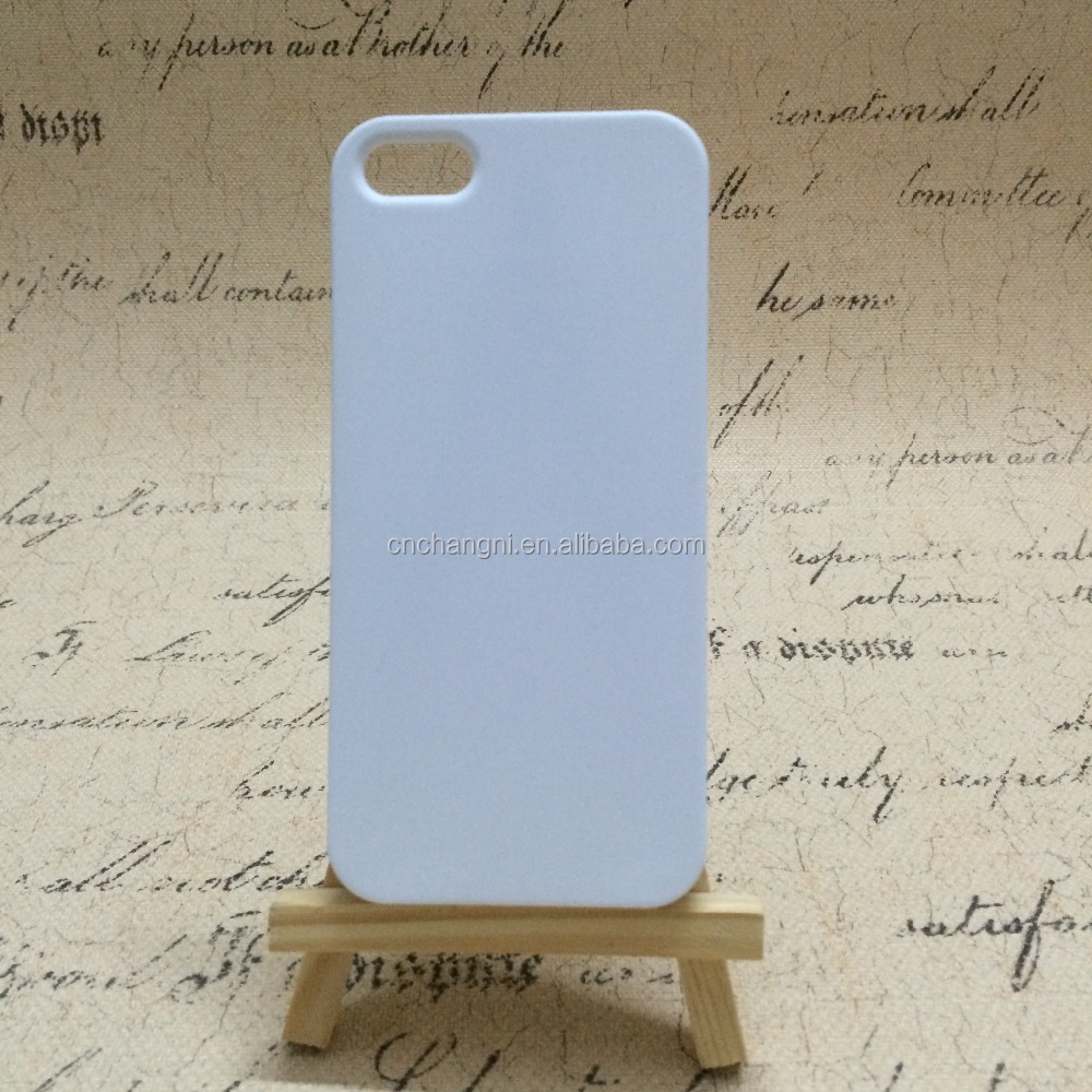 Open hole 3D subliamtion case for Iphone5/5s/SE High quality good price