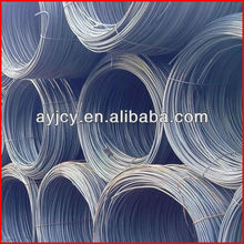 SAE 1008B 1006B SAE10B21 for cold heading stock lot hot rolled low carbon steel wire rod