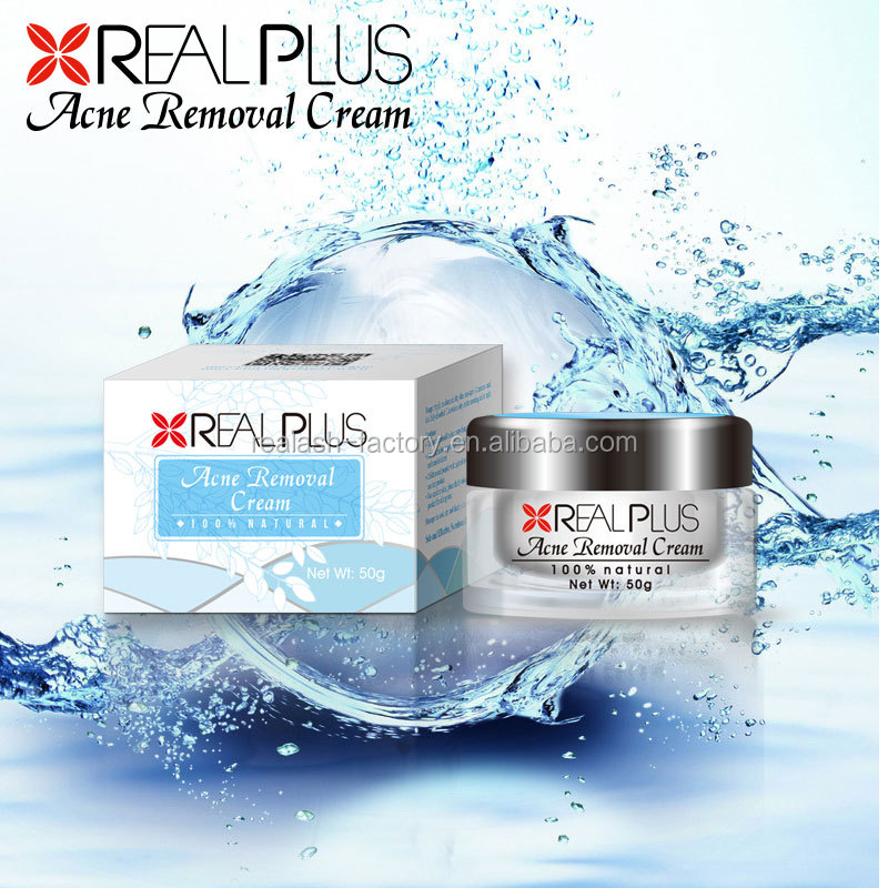 Special formula made in korea hot REAL PLUS acne remove fast organic cream
