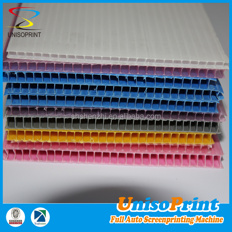 Custom pp material high quality plastic corrugated/corflute/hollow sheet