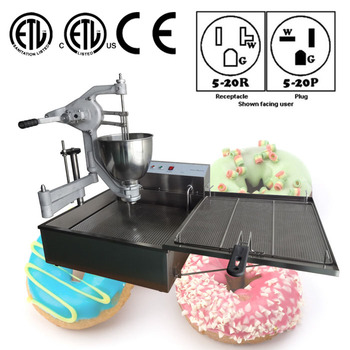 Semi-Automatic tabletop electric mini donut maker