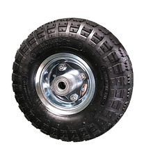Small 10 inch pneumatic rubber wheels for trucks