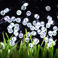50 LED Solar Fairy String Light for Indoor/Outdoor, Christmas, Garden, Patio, Fence and Holiday Decoration