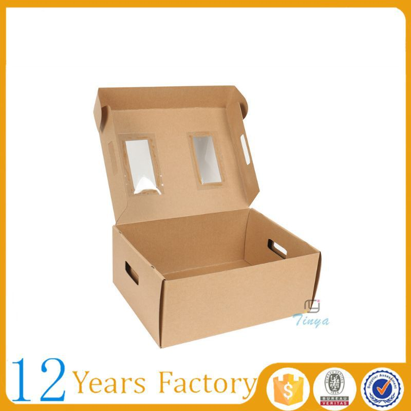 Material recycled shipping tomato packing boxes