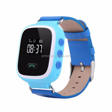 Hot selling Real 3G SOS Function Remote GPS Tracking kids cell phone smart watch