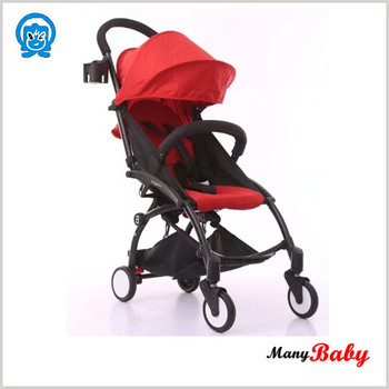 baby time baby stroller with light weight can sit can lie can sleep, portable folding baby push stroller