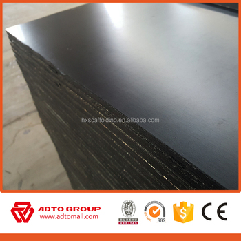 1220*2440*18mm Plywood Shuttering Plywood Waterproof Film Faced Plywood