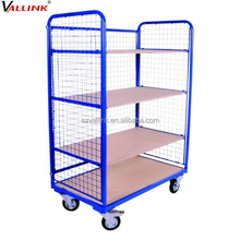 steel frame foldable roll cage cart
