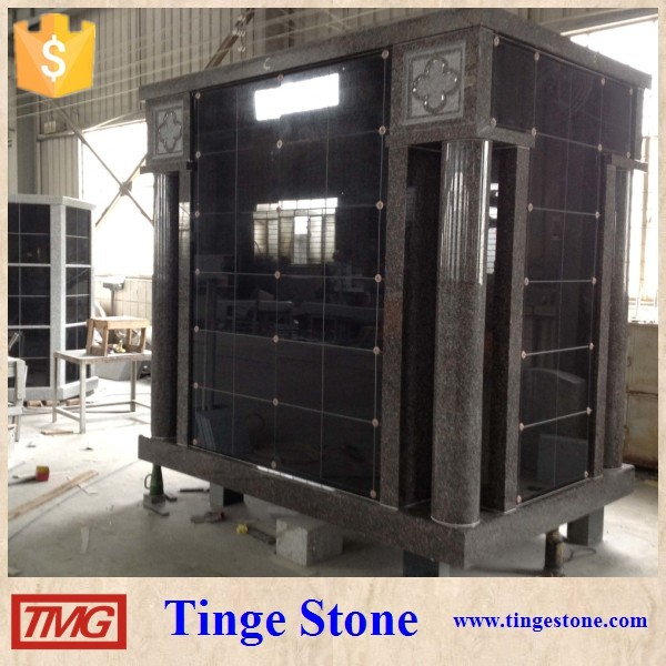 Shanxi Black and G603 Granite Columbarium Niche For Sale Prices