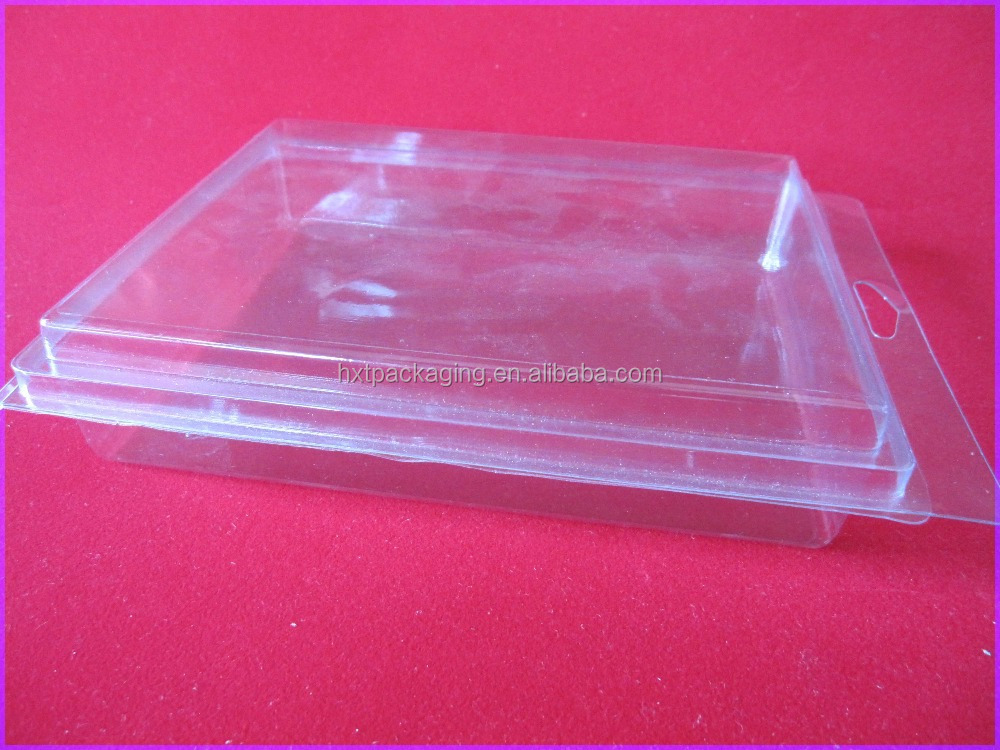 China transparent plastic golf ball packaging box
