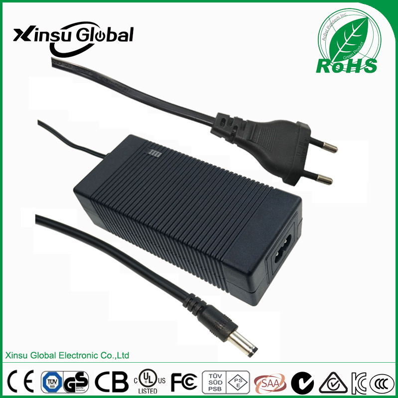 Level VI Energy Efficiency output 29v 2a ac dc power adapter