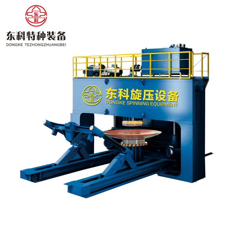 2017 DK Good Quality Dished Head Forming Flanging Equipment Pressing and Flanging Equipment for End Head