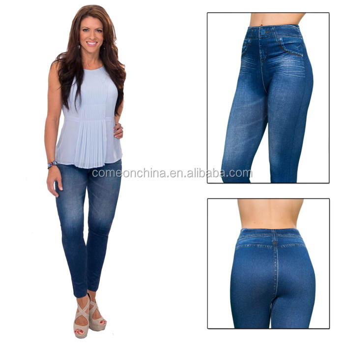 Slim jeans leggings modellante