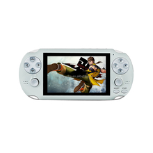 4.1inches screen + two joysticks +all format game handheld game player with share PK