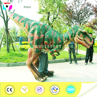 Walking animatronic used mascot dinosaur costumes for sale
