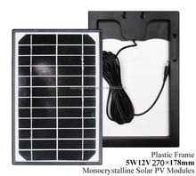China cheap solar manufacturer CE, IEC & INMETRO certified mono 12V 5W solar panel