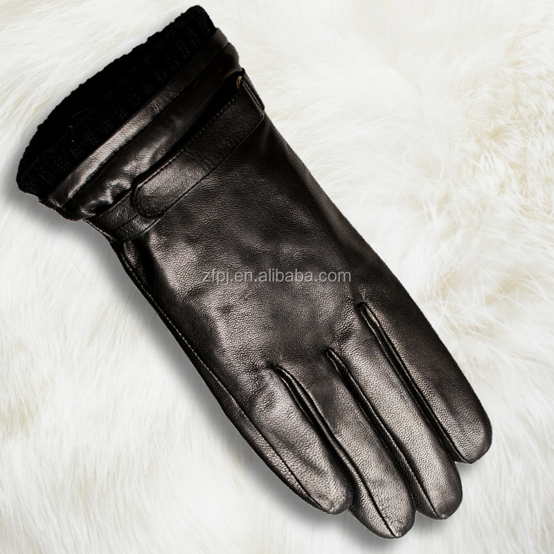China Fashion Leather Gloves Import Leather