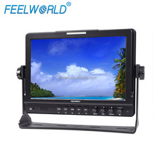 "10.1"" TFT LCD IPS Screen Display 1080P HDMI 1280x800 High Resolution SDI Field Camera Monitor with Waveform Vectorscope"