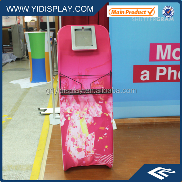 Expo Portable Tension Fabric Covering Stand For Tablet