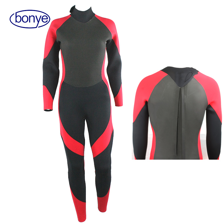 Long Sleeve Neoprene Wetsuit Diving Full Body Suit