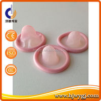 Pink color condom wholesale condom on the world