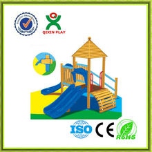 2013 new toys kids wooden playground equipment plans ,wooden playground eqipment QX-11057D