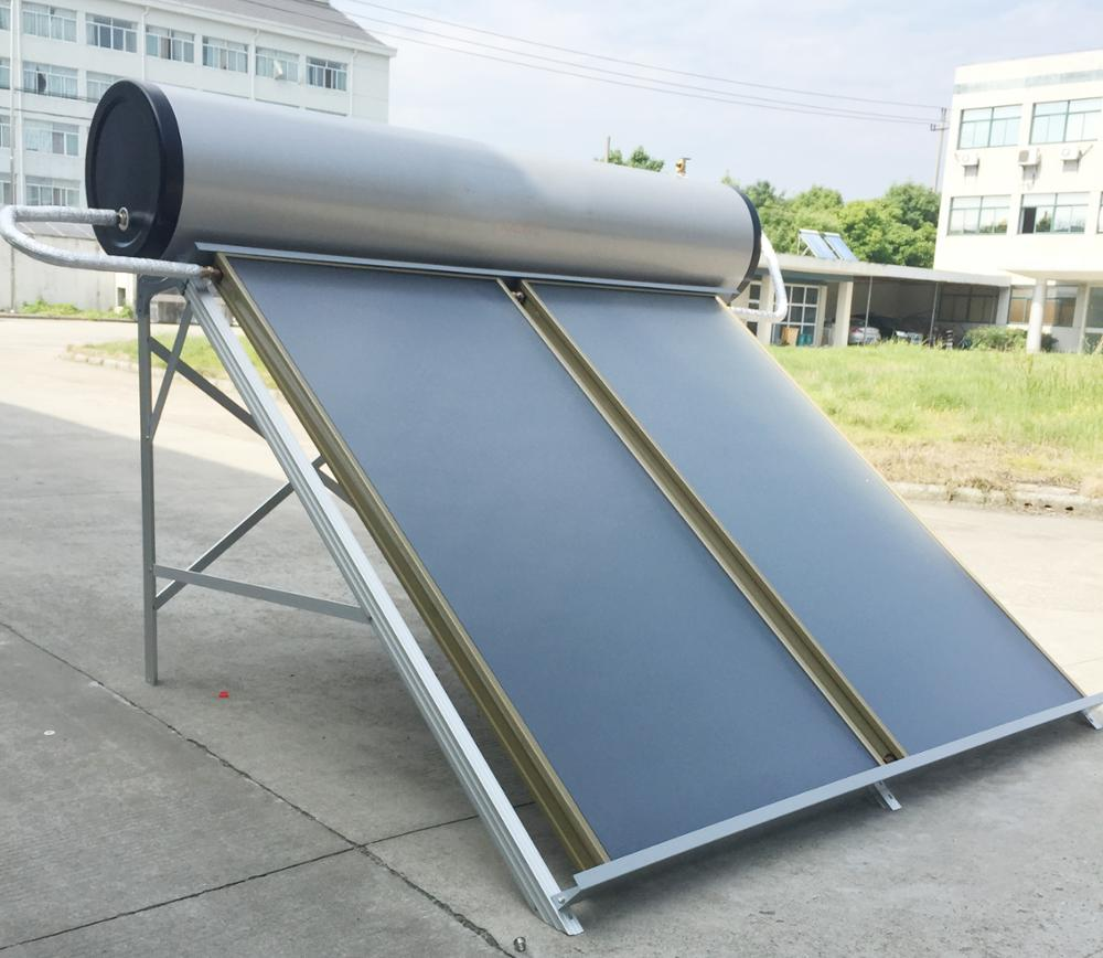 Blue titanium coating Flat Panel Solar Collector Solar Water heater