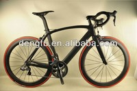 2015 years hot selling complete black matt finish carbon aero road bike with DI2 groupset FM098