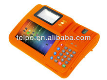 2014 Telpo TPS550 android pos with printer with camera, 1D/2D Barcode Scanner, Finger Print Scanner