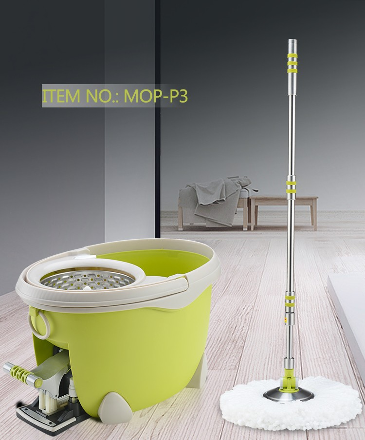 TOPOTO 2020 High Quality Easy House Cleaning Magic Rotary Pedal Mop