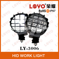 Internal ballast h3 bulb HID Xenon Work Light offroad hid light working lamp HID round work light