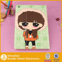 cartoon leather case for ipad air,for apple ipad air cover