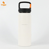Customized Water Bottle With Drinking Straw