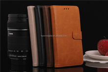 Stylish PU Wallet Leather Mobile Phone Case For Xiaomi 3 With Card Slots